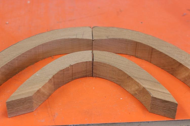 Building a wood sup - nose blocking rough cut