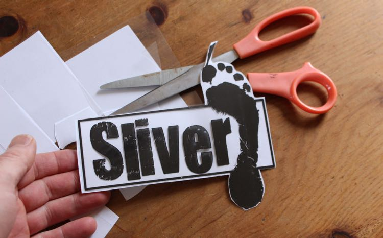 Completed Sliver Paddleboards Logo