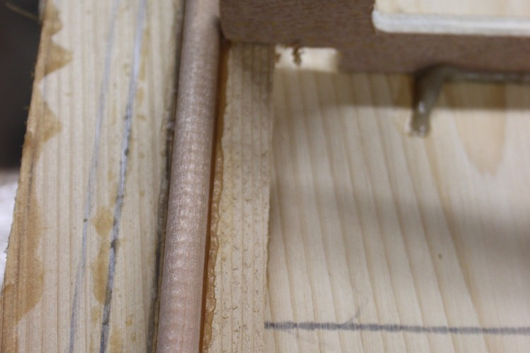 How to build hollow wood surfboard rails 2
