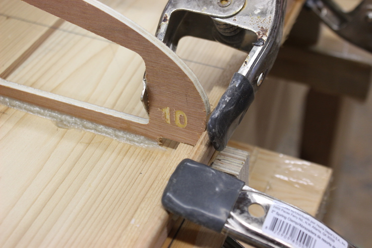 How to build hollow wood surfboard rails 4