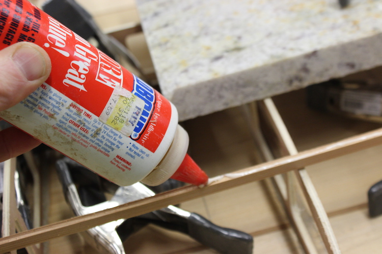 How to build hollow wood surfboard rails 6