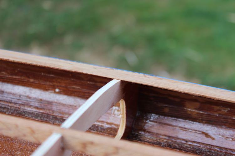 How to shape wood paddleboard rails