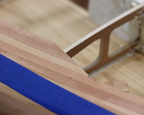 Paddle board kit - trim