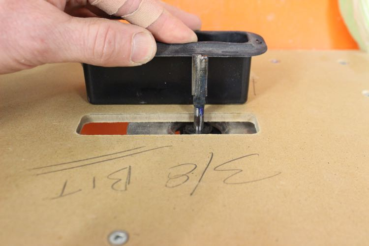 Routing a SUP handle - Height Check