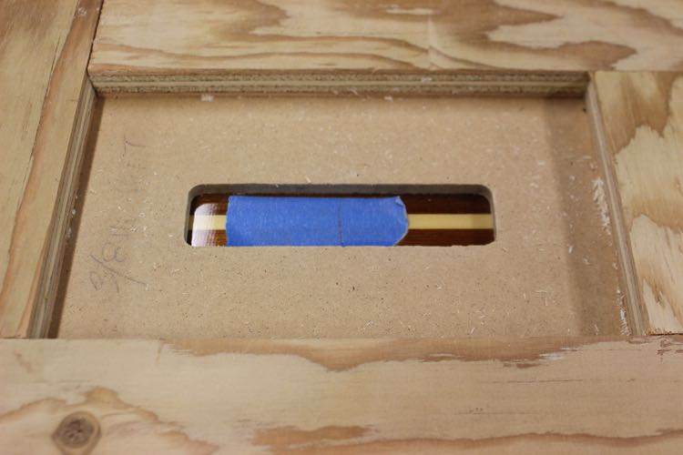 Routing a paddleboard handle - jig alignment