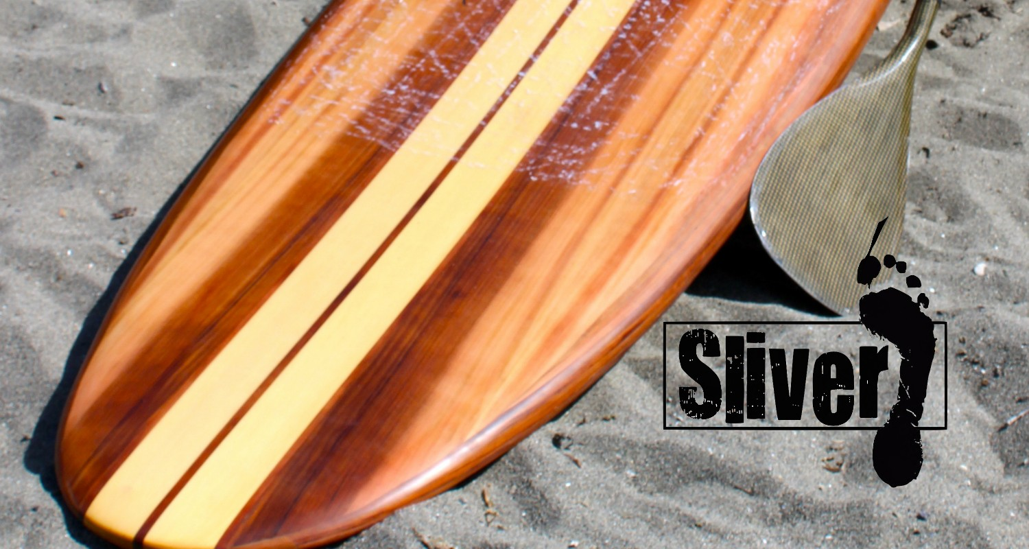 Sliver Paddleboards Hollow Wood Paddle Boards