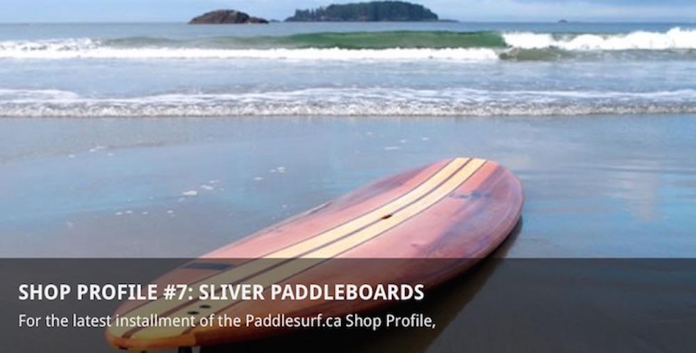 Sliver Paddleboards - Paddlesurf Canada
