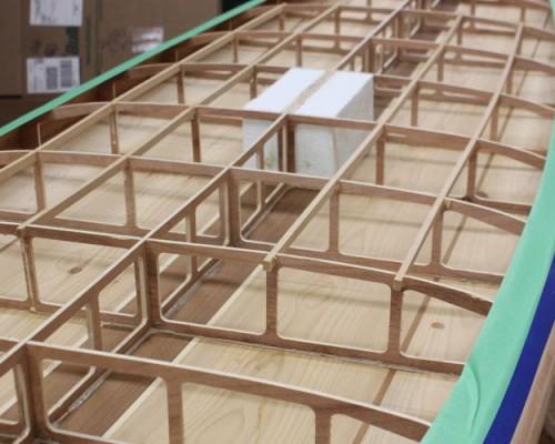 Wooden SUP - Deck Reinforcements