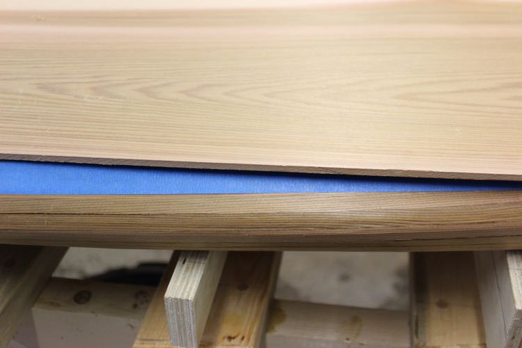 paddle board kit - top skin