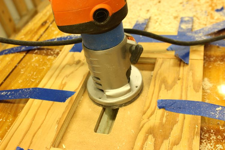 routing a sup handle