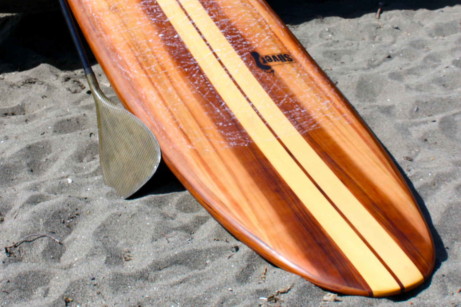 Wood Sup Paddleboard ~ Sliver paddle board plans hollow wood sup