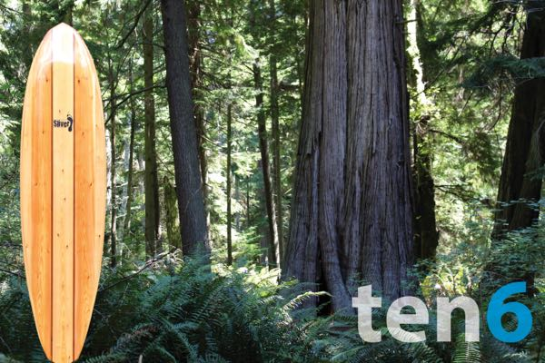"10'6"" wood paddleboard kit"