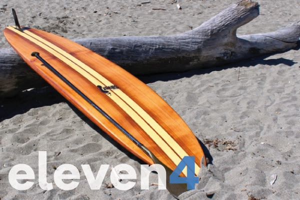 "11'4"" wood paddleboard kit"